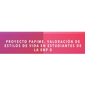 Logo PAPIME de la Escuela Nacional Preparatoria plantel no. 8